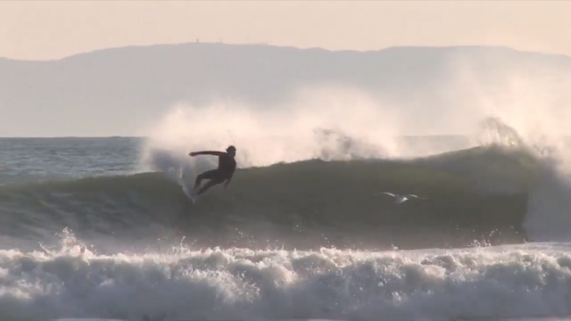 Dane Reynolds | lackadaisical surfing on a 5'6 Donald Day + aggressive finish