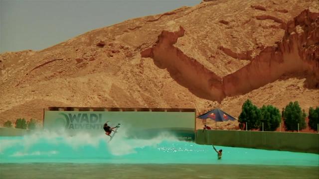 Sombra Seca / Piscina de ondas em Dubai