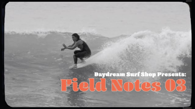 Field Notes 03