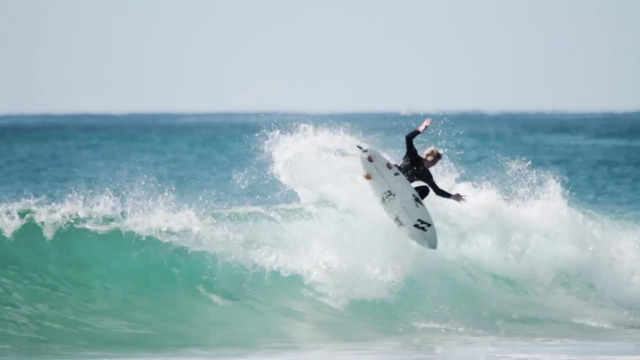 Surfboard Riding Video