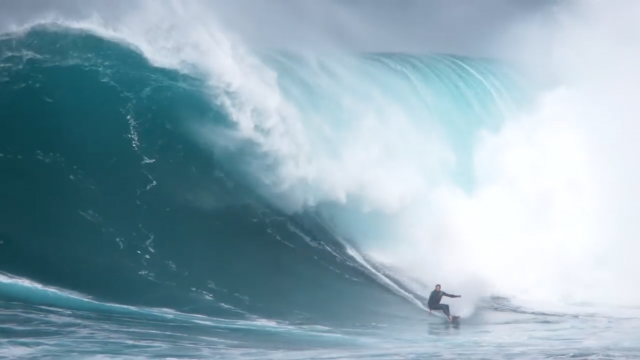Big Waves Continue as Jaws Stays Hot Over the Winter Season