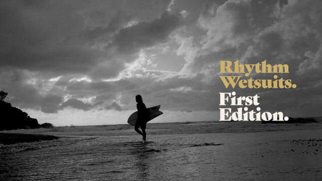 Rhythm Wetsuits. First Edition.