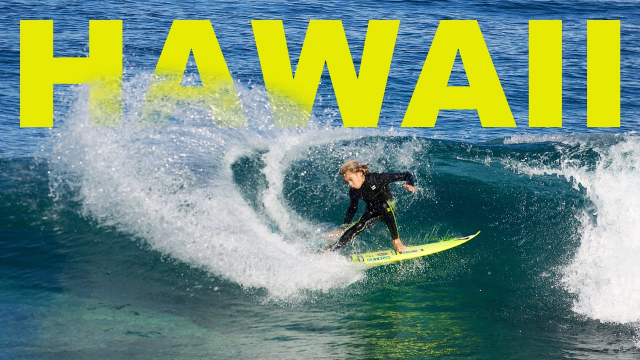NORTH SHORE HAWAII | 10 Year Old Surfer: Cruz Dinofa