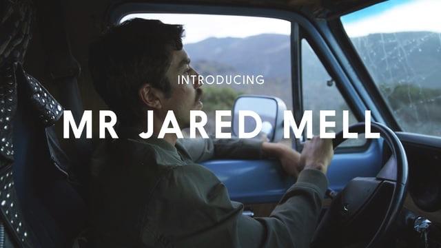 JARED MELL JOURNAL VOLUME: 1