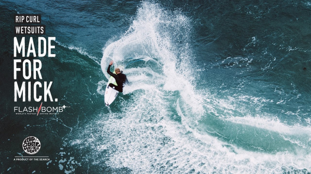 Made For Mick | Made For Waves | Wetsuits by Rip Curl