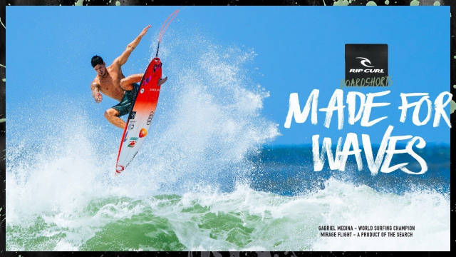 Gabriel Medina | Made For Waves 2018 | Mirage Flight Boardshort