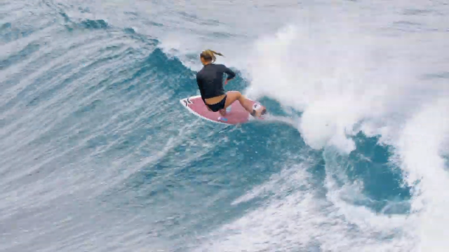 Channel Islands Surfboards - Lakey Peterson free surfs at Honolua Bay
