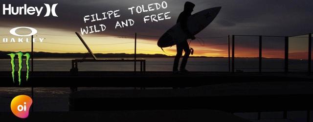 FILIPE TOLEDO - WILD and FREE