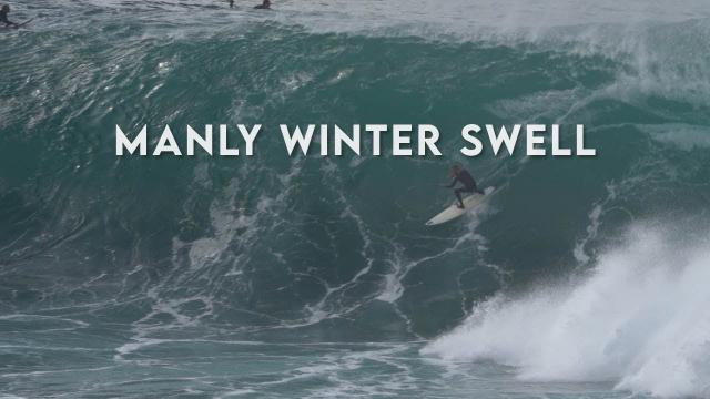 15 July 2020 - Big Surf In Manly (Deadmans), Sydney, Australia