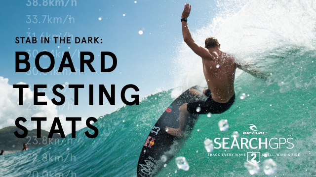 Stab In The Dark: Mick Fanning Tracks His Stats