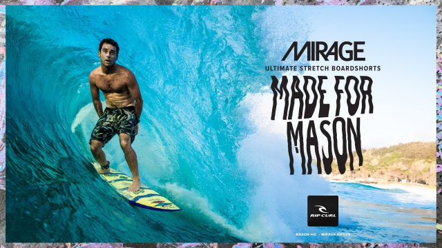 Made For Mason | 2019 Mirage, Made For Waves | Native Surf Collection