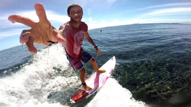 GoPro: Filipe Toledo & Gabriel Medina - Fiji 06.07.14 - Surf