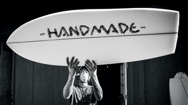 HANDMADE | A Tribute To DIY Shaping feat. the World's Best Surfer/Shapers