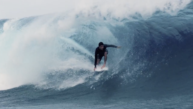 FCS Travel Series - Jeremy Flores Tahiti