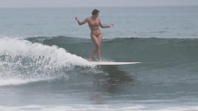 The High Heel by Thomas Surfboards for Karina Rozunko