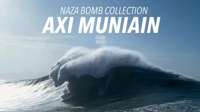 Axi Muniain . Naza Bomb Collection #001- [Drone] [Big Wave] [Nazaré]