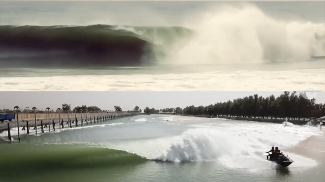 Kelly Slater Wave Pool vs Natural Waves