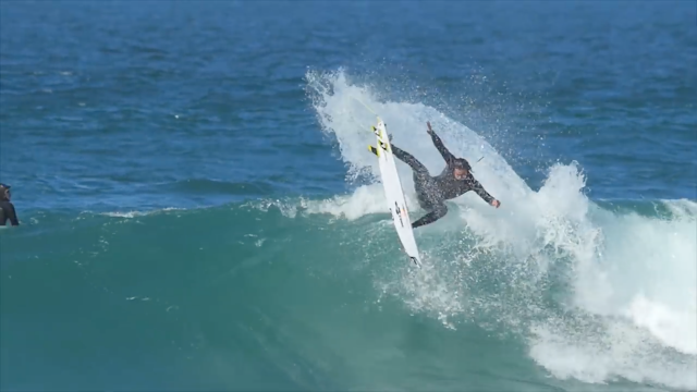 Warming up with Jordy Smith at J-Bay