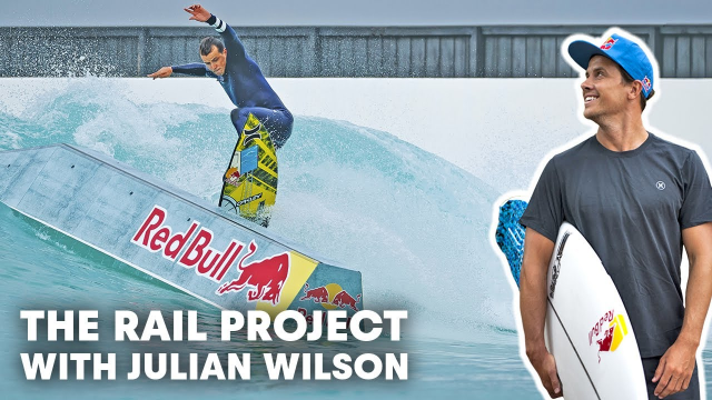 Julian Wilson Mixes Surf And Skate At Melbourne's URBNSURF Wave Pool