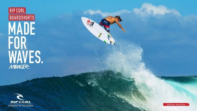 Dillon Perillo | Made for Waves Indo | Boardshorts by Rip Curl