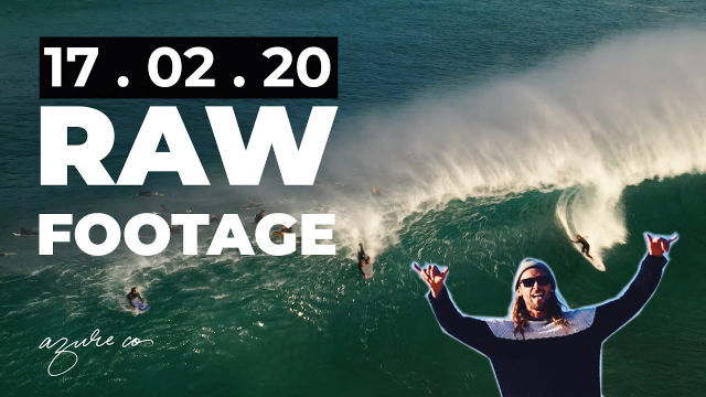 Pumping Big North Point - Raw Footage