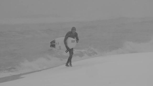Morning Blizzard Surf
