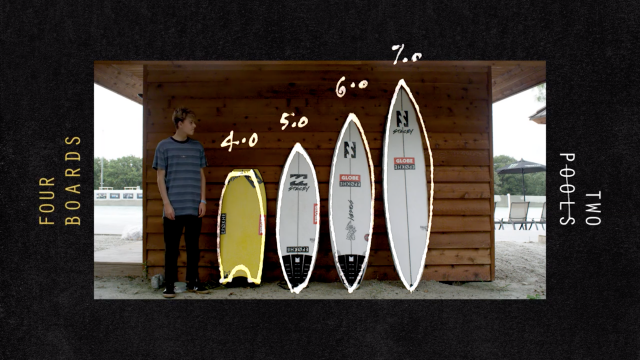 Four Boards, Two Wavepools with Dakoda Walters