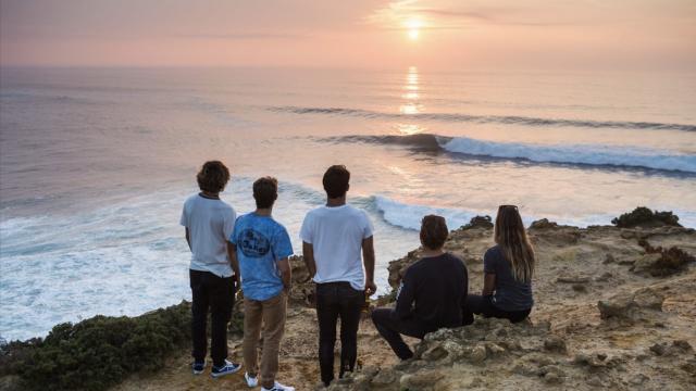 Oakley surf team en Portugal