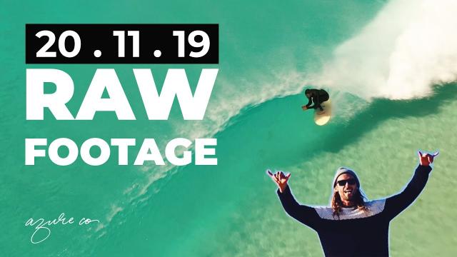 RAW FOOTAGE - Super fun West Oz Beachie Sunny Session.