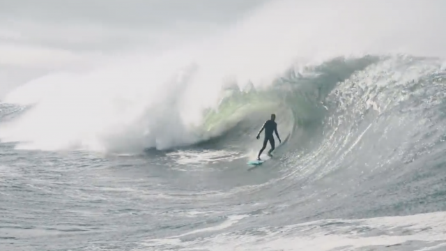 Ireland's Mullaghmore Slab is a Cold Water Teahupo'o   Amp Sessions   SURFER Magazine