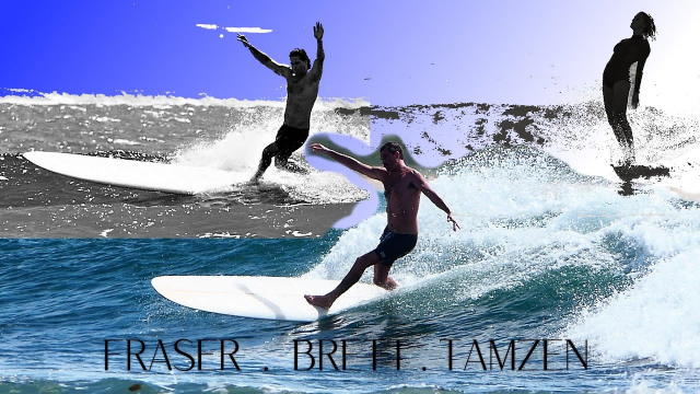 Longboarding the Coffs Coast with Fraser Brett and Tamzen