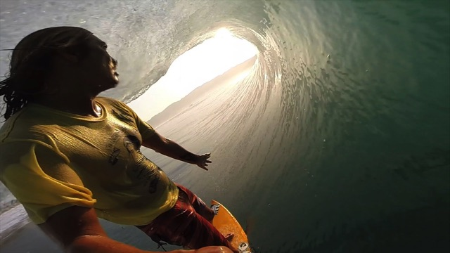 GoPro: Sunset Barrel-Slingin' with Mikala Jones