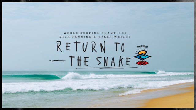 Ain't No Wave Pool, Mick Fanning and Tyler Wright return to The Snake