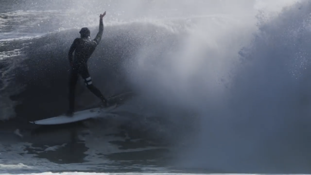 Winter Storm Avery Turns New Jersey Into a Playground of Barrels | Amp Sessions