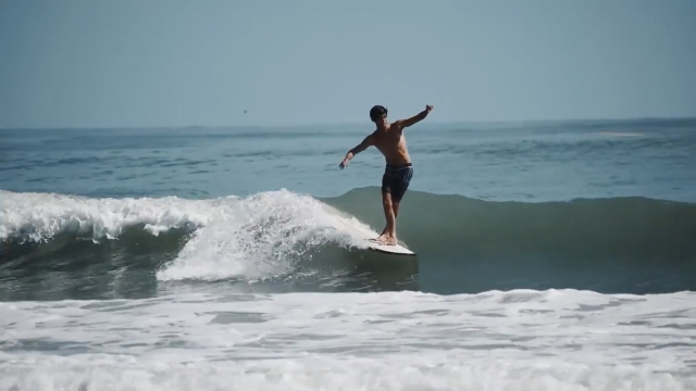 Surfing Hurricane Florence Leftovers