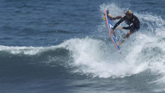 Eric Geiselman gets tropical