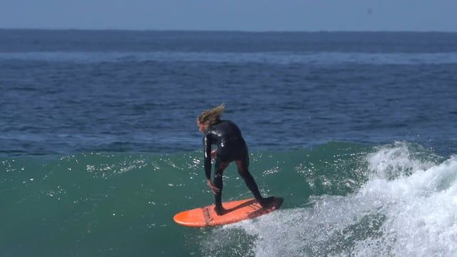 BLAIR CONKLIN SHREDDING THE 54 SPECIAL SURFBOARD