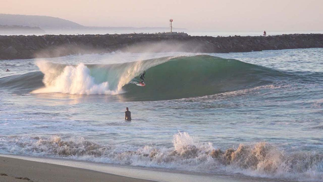The Wedge - Glassy and GOING OFF !!! - June 2020