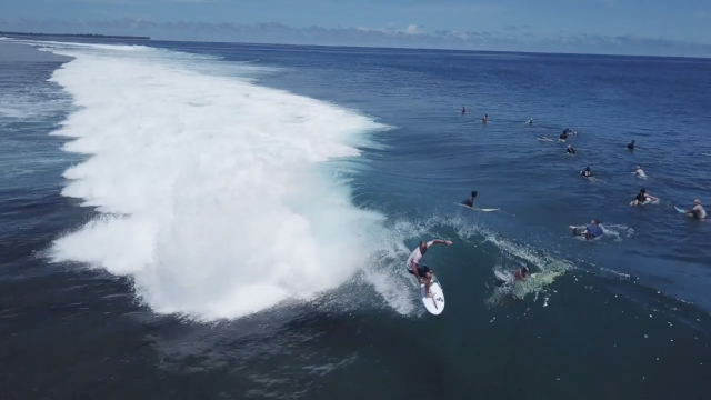 Macaronis Resort Surfing Early April 2019