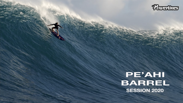 Pe'ahi Barrel Session - January 23, 2020 [POWERLINES]