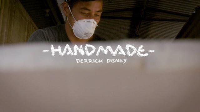 Derrick Disney Works His Twinzer Magic | HandMade | SURFER