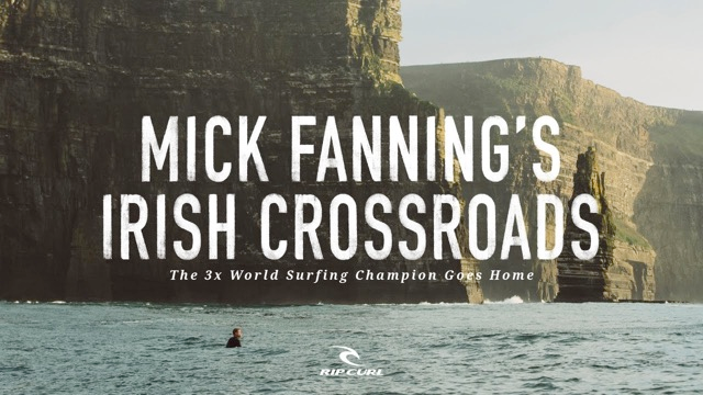 Mick Fanning's Irish Crossroads
