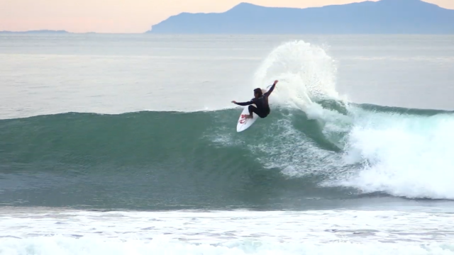 Dillon Perillo SURFING FUN POINT BREAK RAW