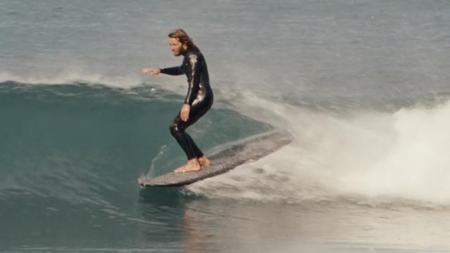 SURFING ITALY!  ALE PONZANELLI LONGBOARDS in BELLA VITA FILM