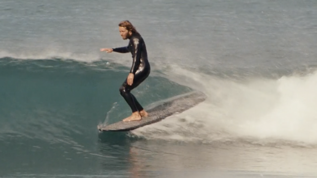 SURFING ITALY!  ALE PONZANELLI LONGBOARDS in BELLA VITA FILM