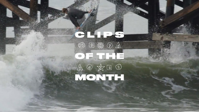 Kolohe Andino Owns Clips of the Month for March 2019