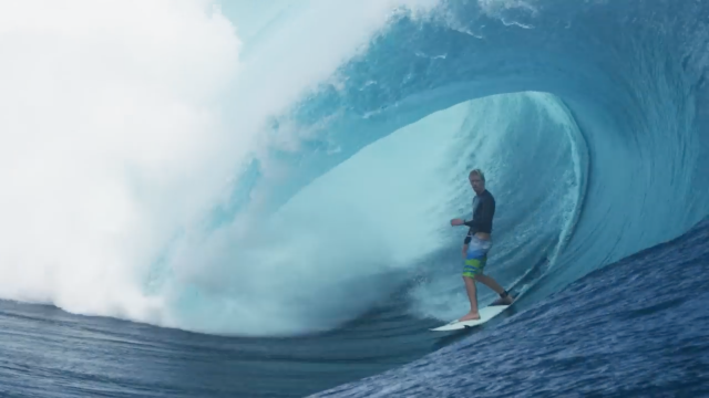 John John Florence and friends surf large Teahupoo - 2011