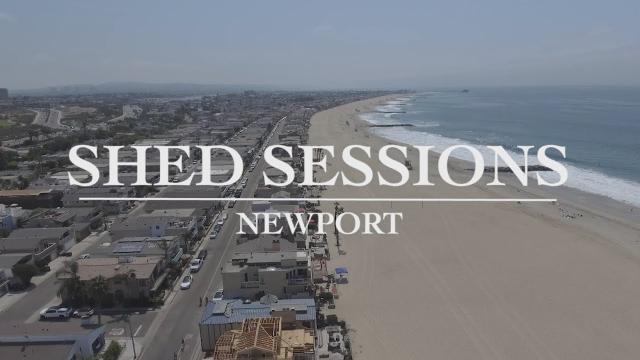 Newport Beach Locals Test A Few 70's Surfboards With Neighborhood History