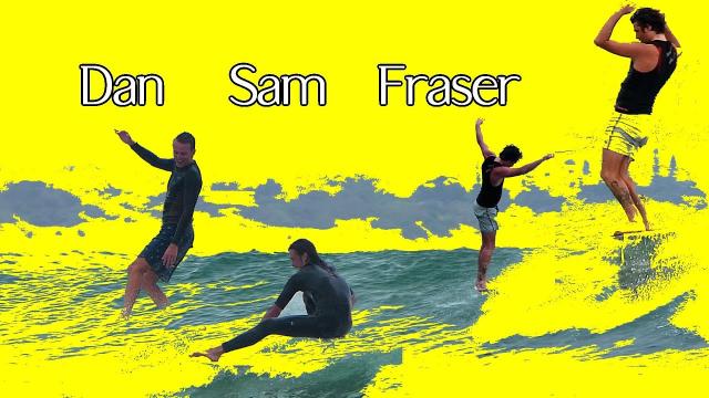 Longboarding with Fraser Dan Sam