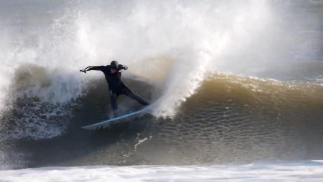 Winter Storm Surfing | Rob Kelly
